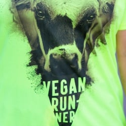 "t-shirt ""Vegan Runner L214"" - coupe homme"