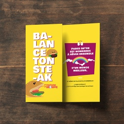 "Tract ""Balance ton steak"""
