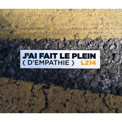 "Sticker Voiture ""Plein d'empathie"""