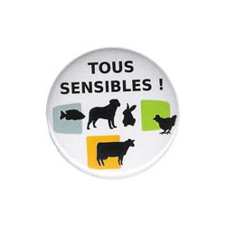 "Badge ""Tous sensibles !"""