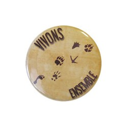 "Badge ""Vivons ensemble"""