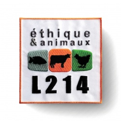 "Patch thermocollant ""logo L214"""