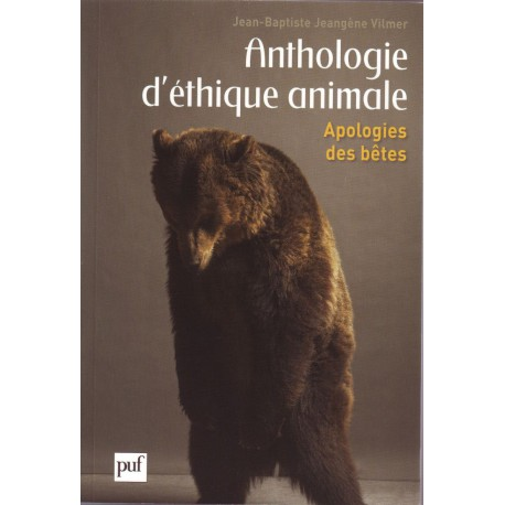 Anthologie d'éthique animale