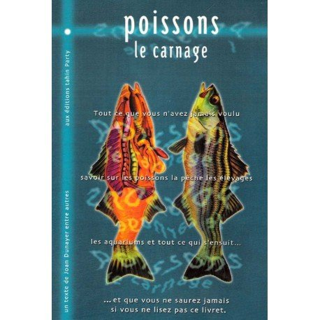 Brochure Poissons, le carnage