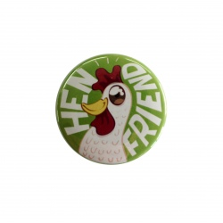 "Badge ""Hen Friend"""