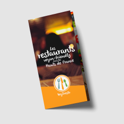 "Brochure ""Les restaurants vegan-friendly dans les Hauts de France"""